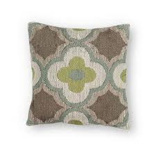 kas oriental rugs taupe and sage 20 inch throw pillow