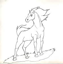 horse coloring pages spirit spirit coloring page sudicolorpages
