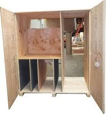reusable trade show crates
