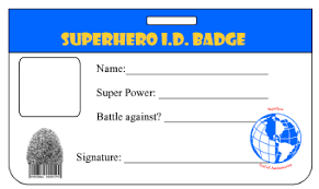 Make An Id Card Id Card Template In Case Of Emergency Cards Pinterest
