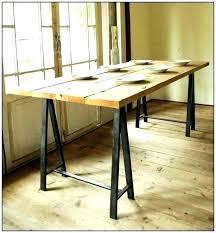 sawhorse table wood sawhorse table legs sawhorse table legs sawhorse desk legs fantastic saw horse desk