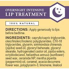 burt s bees overnight intensive lip treatment