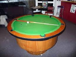 round pool table pool tables