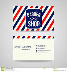 barbershop business cards barber business cards