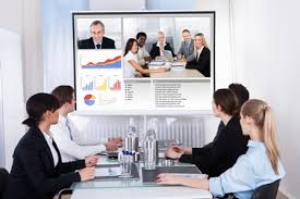 office meeting. Connect Your Existing Conference Room Systems And Enable From Any Location To Communicate With Desktops, Tablets Mobile Devices. Office Meeting
