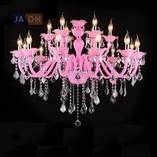Luminaire Chandelier Lighting Big Discount 5288 Led E14 European Iron Crystal Glass