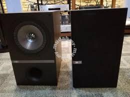kef q300. kef q300 bookshelf speaker (demo set)