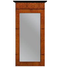 wood mirror frame. Biedermeier Veneer Mirror Frame Wood E