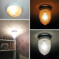 Led Closet Light Fixtures Lowes Ideas Fixture With Motion Sensor.