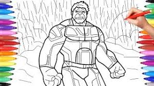 Avengers Endgame Coloring Pages Videos 9tubetv