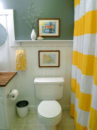 Bathroom  Gorgeous Small Bathroom Remodeling Ideas With White And - Yellow and white bathroom