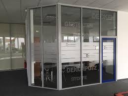 Horizont Werbung Dessau Glasmarkierungen Sichtschutzfolie