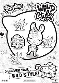 Printable Coloring Pages Of Seasons With Shopkins Season 9 Wild