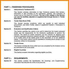 Tender Document Template Simple 44 Example Of Tender Document Quote Templates Lexar F Pinterest