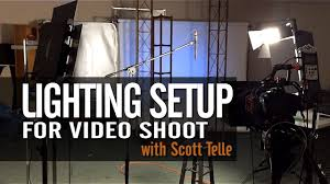How To Set Up Lighting For Video Shoot Lighting Setup For Video Shoot