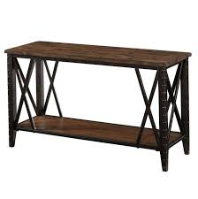 Captivating Sofa Table 12 Inches Deep Console Thesoundlapse Throughout