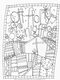 Adults Printable Doodle Art Free Coloring
