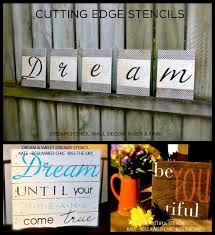 paint diy wall art using wall quote stencils from cutting edge stencils http  on stencil wall art quotes with stenciling to inspire stenciling positive phrases and cutting