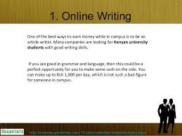 Online Academic Writing Jobs In Kenya        Writingme