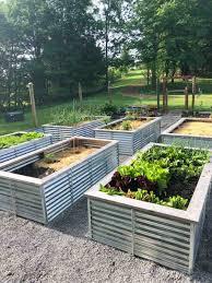 galvanized steel raised garden beds