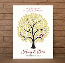 Sign Book For Wedding Wedding Guest Tree Wedding Sign Book Wedding Guestbook Wedding Guest Book Wedding Tree Sign Up To 120 Guest Signatures 16x20 Size