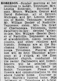 Obituary for Louella RORERSON - Newspapers.com
