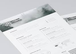 Free Minimalist Resume Template Free Minimalistic And Clean Resume Template CreativeBooster 15