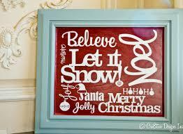 Christmas Signs Christmas Subway Style Sign Cre8tive Designs Inc