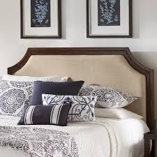 Darren-Upholstered-Linen-Arched-Bridge-Top-Headboard-by-