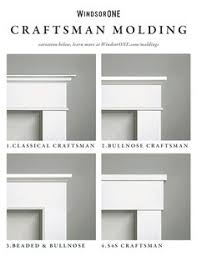 streamline builders finishes up for a white christmas windsorone craftsman style interior trim i16 trim