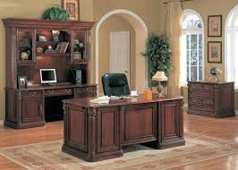 traditional office decor. Traditional Office Furniture Home Executive Decor Desk Cherry Solid Designs .