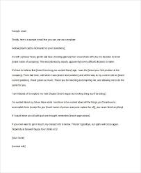 email writing template professional 16 professional email examples samples