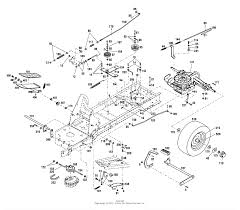 magnum tractor transmission diagram simple wiring diagram troy bilt 13123 14hp hydrostatic ltx tractor s n 131231300101 yamaha golf cart wiring diagram 13123