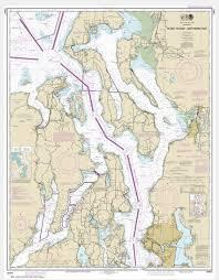 Noaa Chart Puget Sound Northern Part 18441