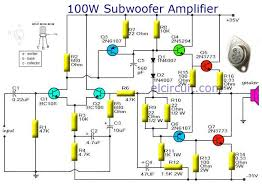 collins subwoofer wiring diagram 17 best images about electronics technology diy it is a circuit diagram of a subwoofer amplifier