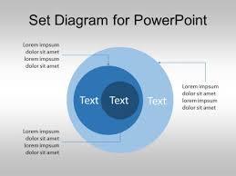 Diagram Venn Ppt Free Set Diagram For Powerpoint Venn Diagram Template