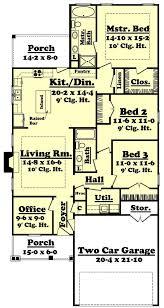 3 Bedroom Open Floor House Plans Creative Design New Design Ideas