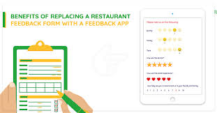 Restaurant Survey Benefits Of Replacing A Restaurant Feedback Form With A