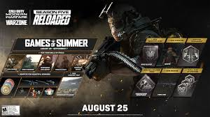 Here are some of them according to this forum thread. Season Five Reloaded Games Of Summer Commence In Call Of Duty Modern Warfare And Warzone