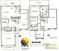 4 Room House Plans  Home Plans HOMEPW26051  2974 Square Feet 4 4 Bedroom Townhouse Floor Plans