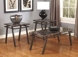 ashley furniture t126 paintsville piece coffee table set sets gray wood cappuccino by