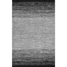 ombre desantis black and white 7 ft 6 in x 9 ft