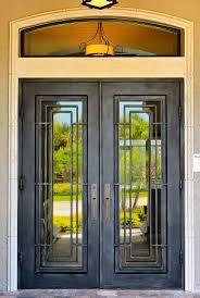 Front Doors Superb Wrought Iron Front Door Wrought Iron Security - Iron exterior door