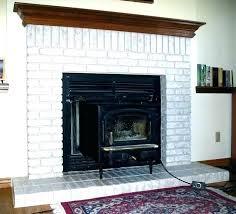 white brick fireplace ideas white painted brick fireplace painted brick fireplace before and after brick fireplace
