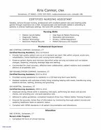 Home Health Aide Resume Examples Awesome For Sample Pdf