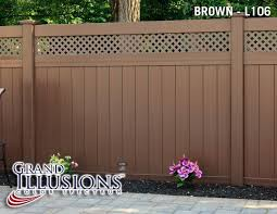 brown vinyl fence panels. Brown Vinyl Fence Panels Inspirational 43 Best Fencing Images On Pinterest 8