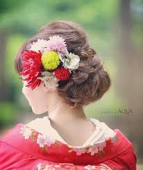 和装洋髪白無垢や色打掛に合わせたい和装ヘア特集 Marryマリー