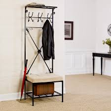 Coat Hanger Storage Rack Entryway Storage Rack Walmart 25