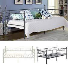 metal bed frame day bed with trundle