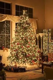 christmas tree train set go around tree